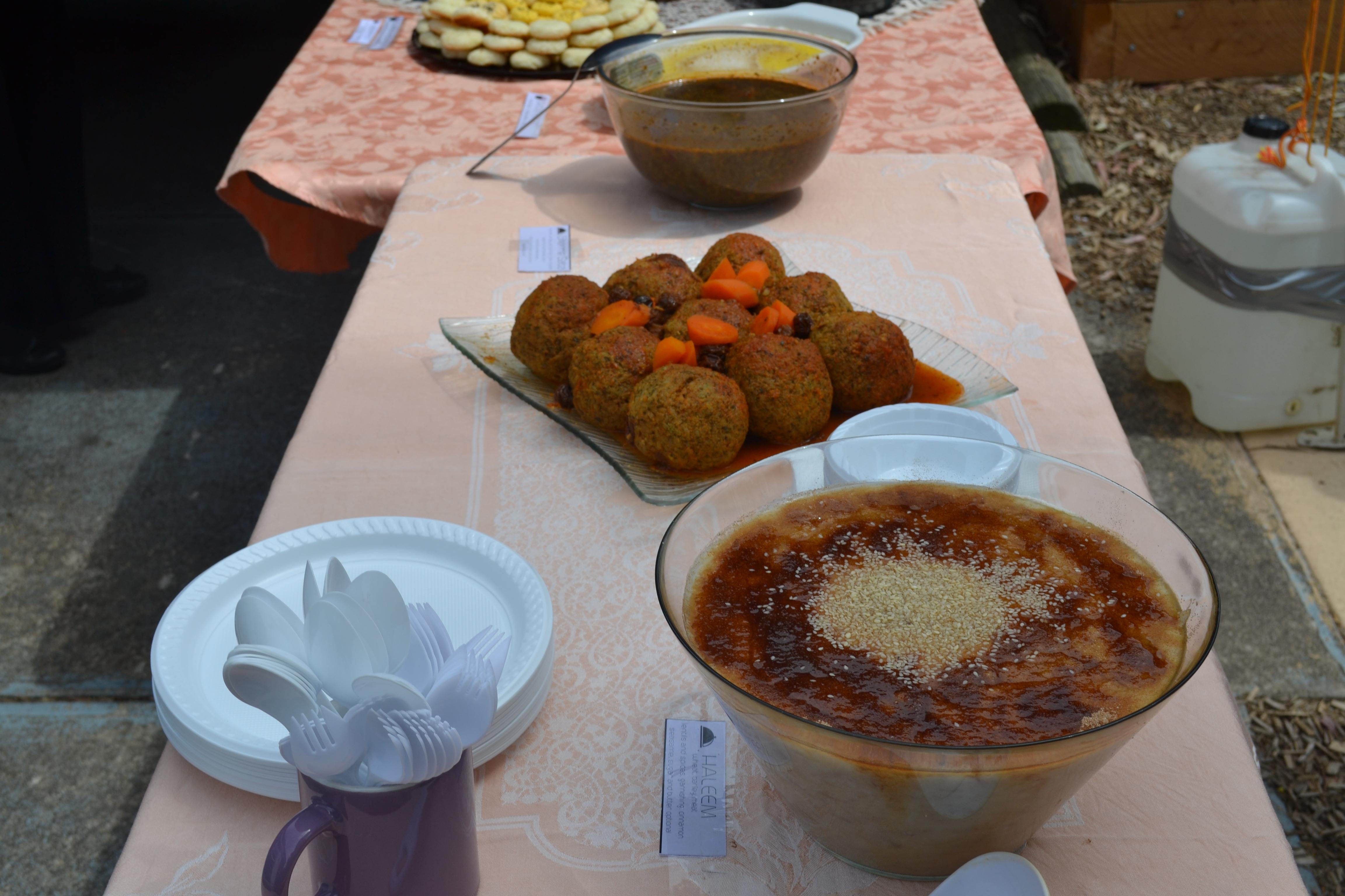 فستیوال غذاهای ایرانی - کانون آل یاسین - ملبورن - اکتبر 2014