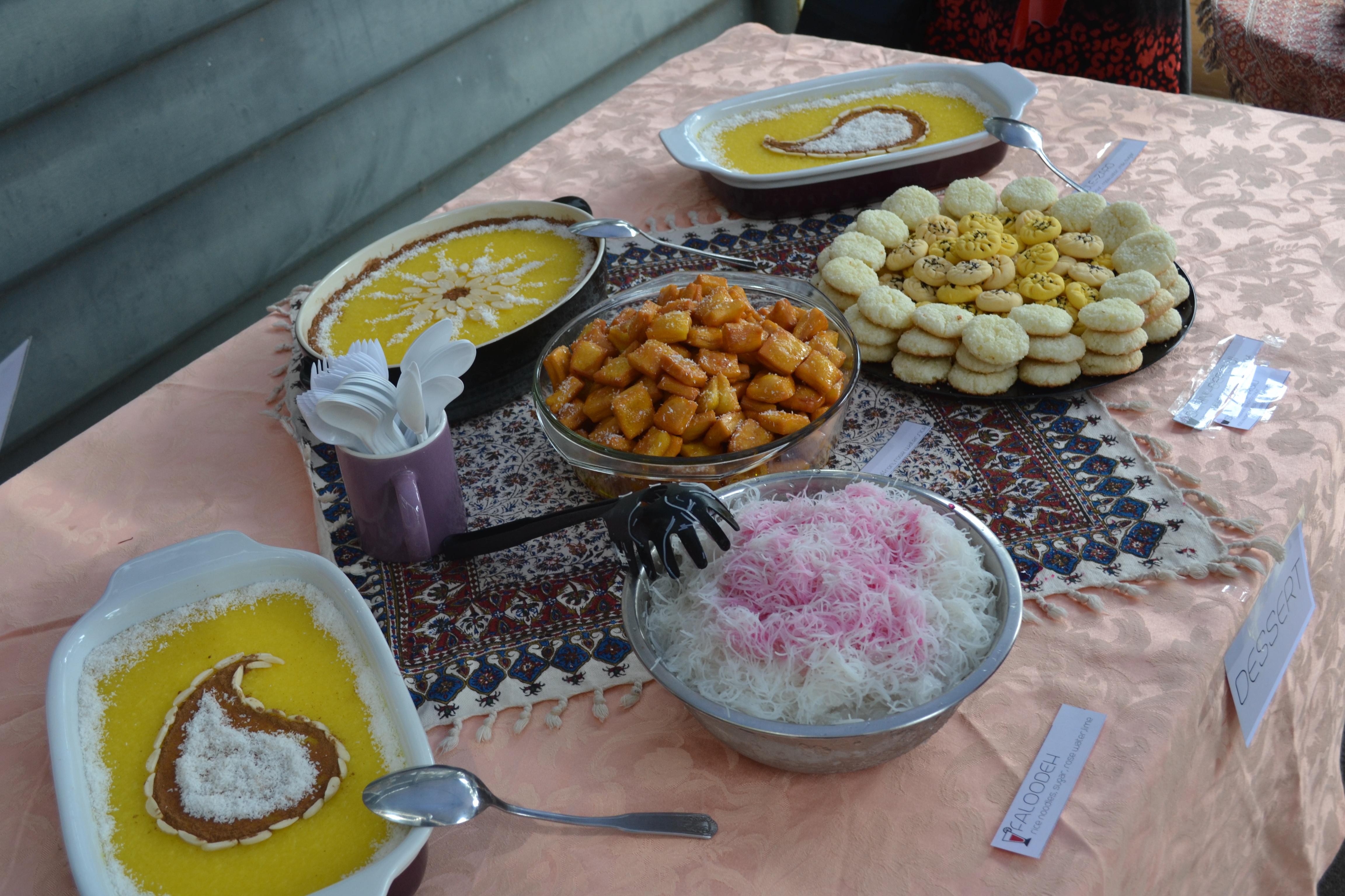 فستیوال غذاهای ایرانی - کانون آل یاسین - ملبورن - اکتبر - 2014